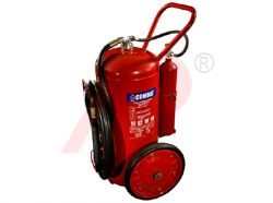 75kg ABC Cartridge Type Mobile Fire Extinguisher