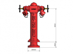 2 Way Controllable Pillar Hydrant