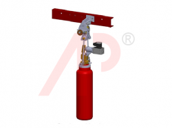 Pneumatic Release Device PAE - C02 Electrical With Protective Cover