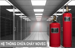 The Novec 1230 fire extinguishing system